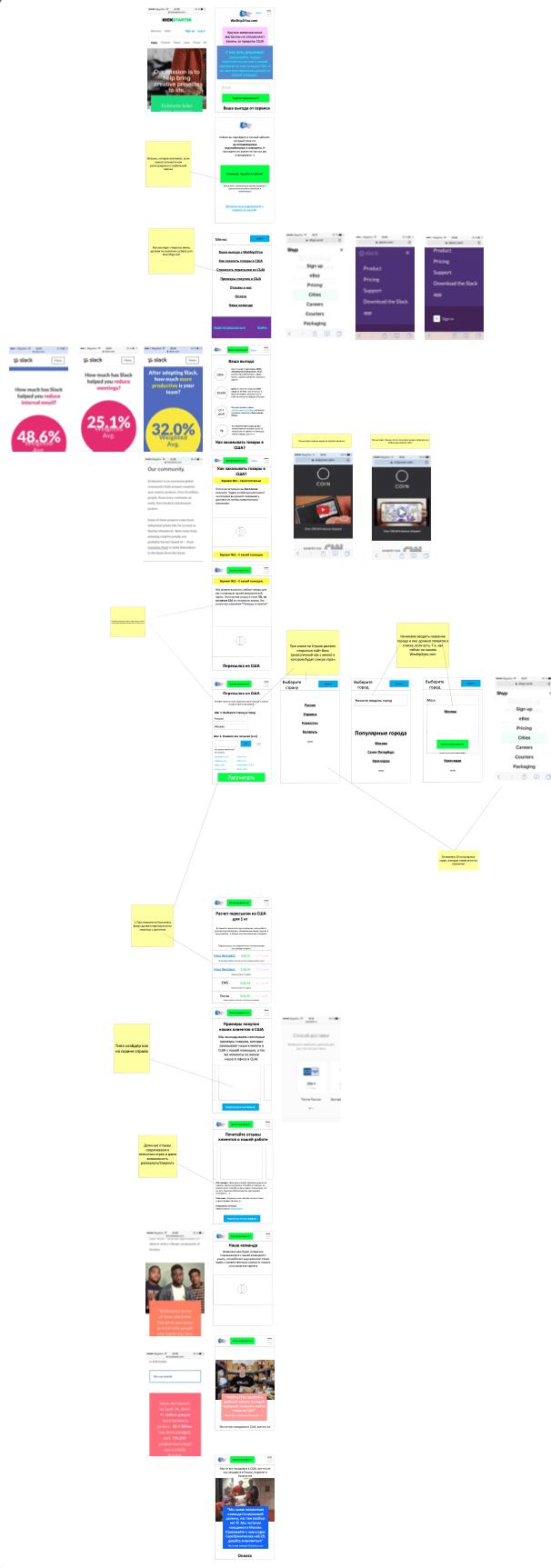 Мобильная версия WeShip2You Сайт Артура Нецветаева — сайты, приложения, прототипы и оформление интерфейсов Screenshot 2021 02 05 at 06.48.48