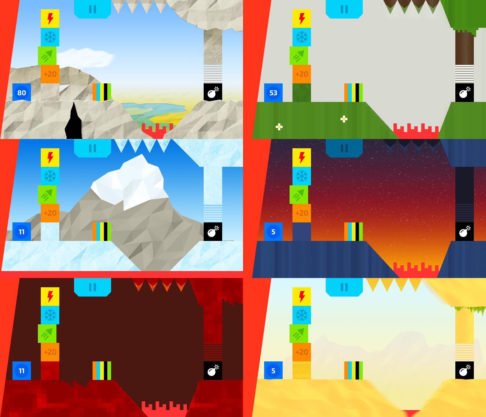 Графика и музыка игры Escbox Сайт Артура Нецветаева — сайты, приложения, прототипы и оформление интерфейсов 02