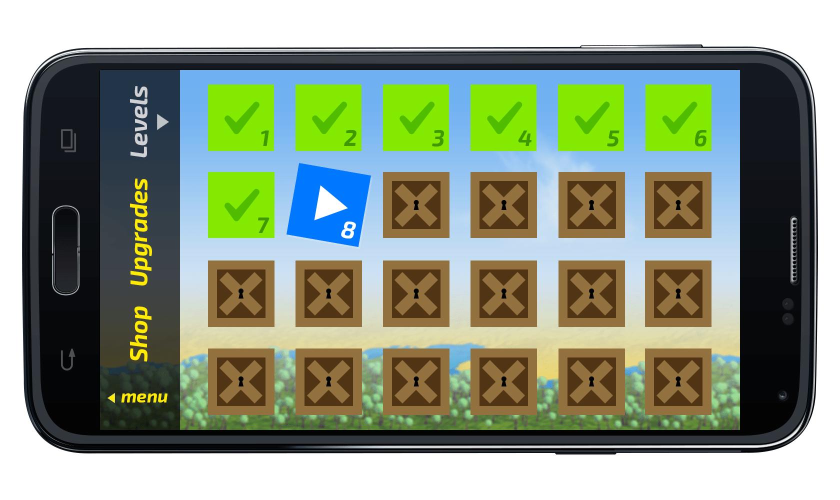 Графика и музыка игры Escbox Сайт Артура Нецветаева — сайты, приложения, прототипы и оформление интерфейсов 09