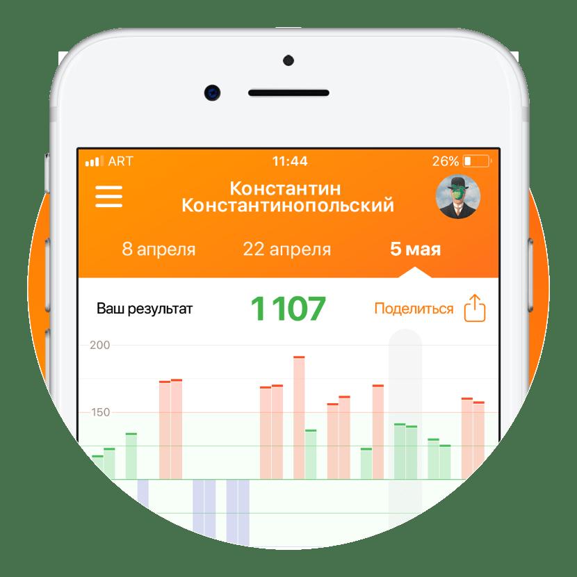 Интерфейс приложения Radotech Сайт Артура Нецветаева — сайты, приложения, прототипы и оформление интерфейсов radotech square