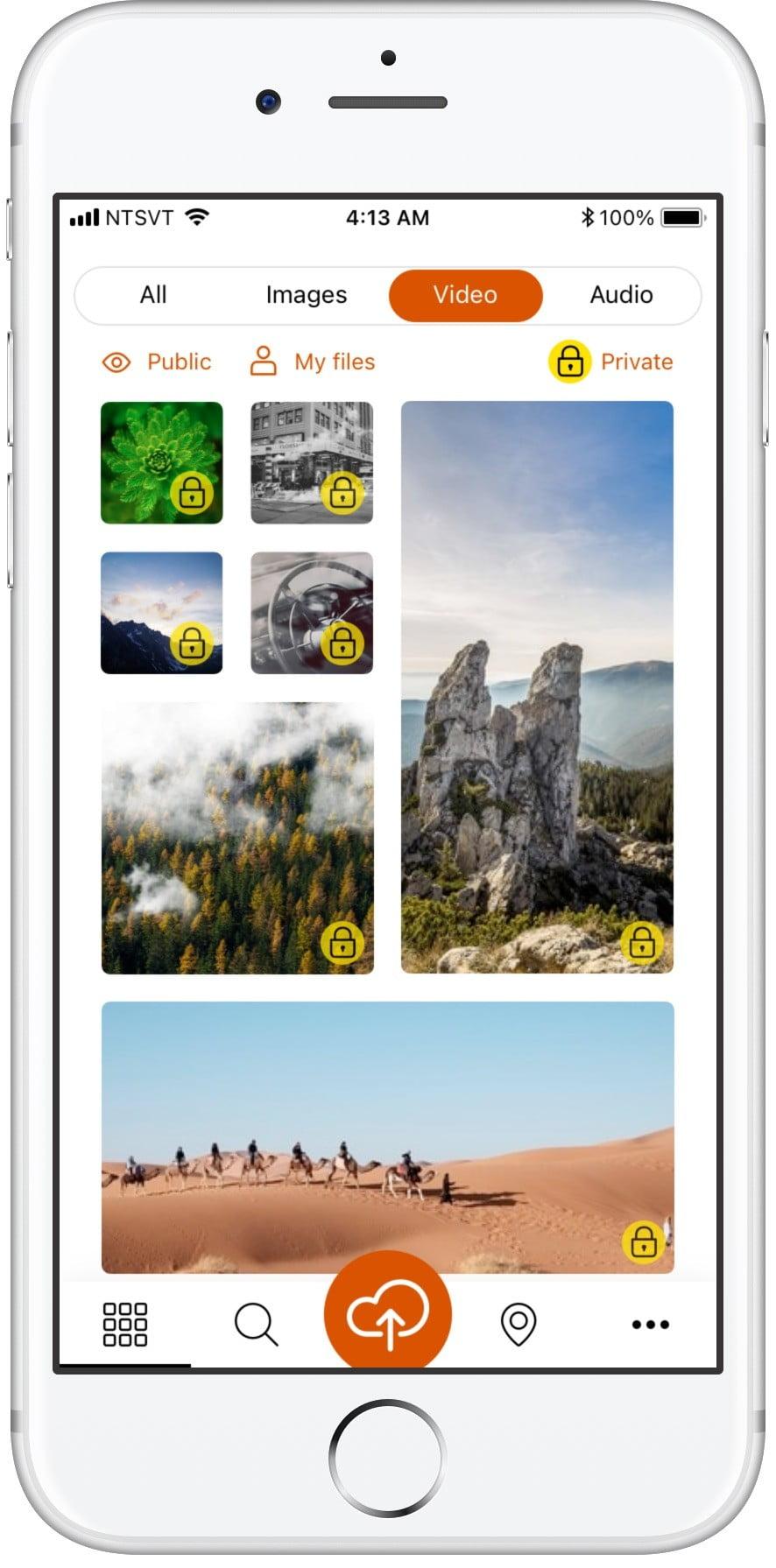 Социальное приложение Yirrkala Сайт Артура Нецветаева — сайты, приложения, прототипы и оформление интерфейсов 2browse 2