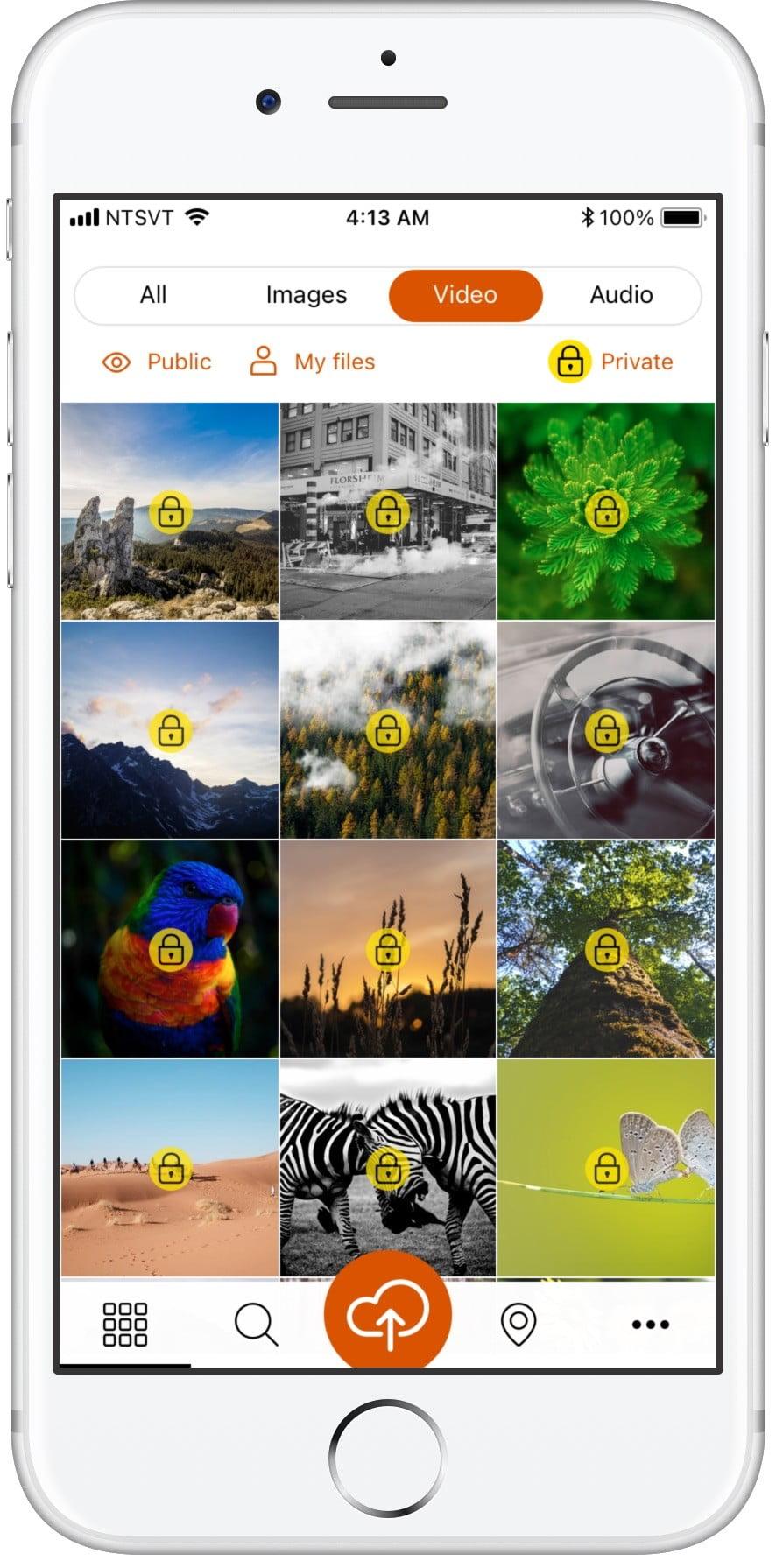 Социальное приложение Yirrkala Сайт Артура Нецветаева — сайты, приложения, прототипы и оформление интерфейсов 3browse