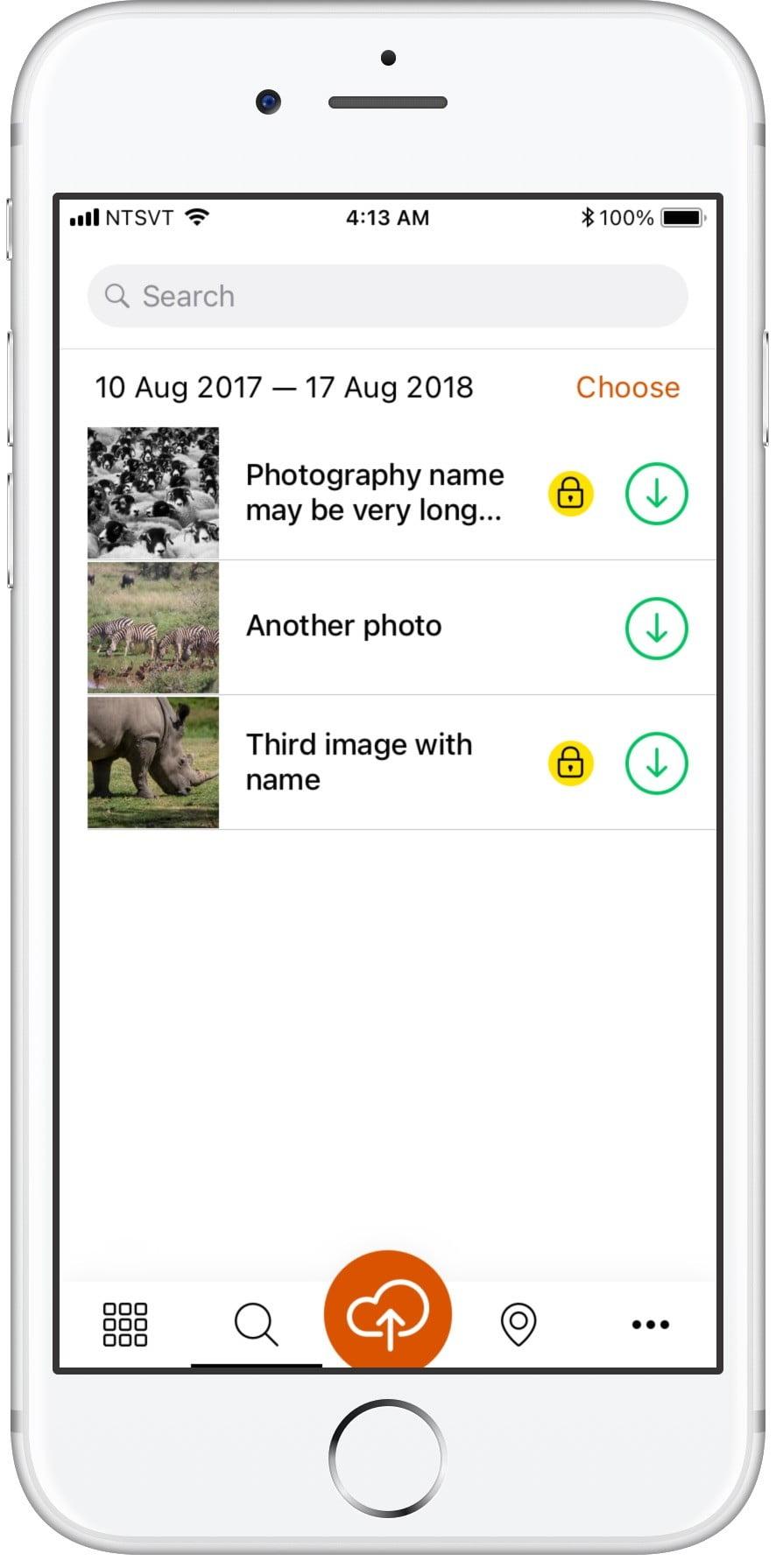Социальное приложение Yirrkala Сайт Артура Нецветаева — сайты, приложения, прототипы и оформление интерфейсов 5search words