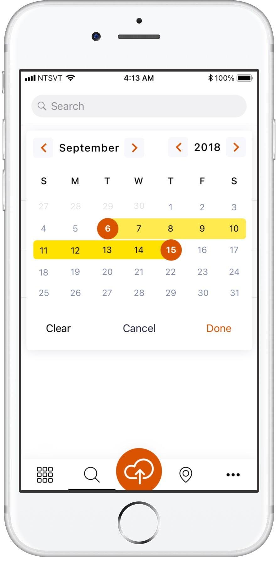 Социальное приложение Yirrkala Сайт Артура Нецветаева — сайты, приложения, прототипы и оформление интерфейсов 6search words calendar