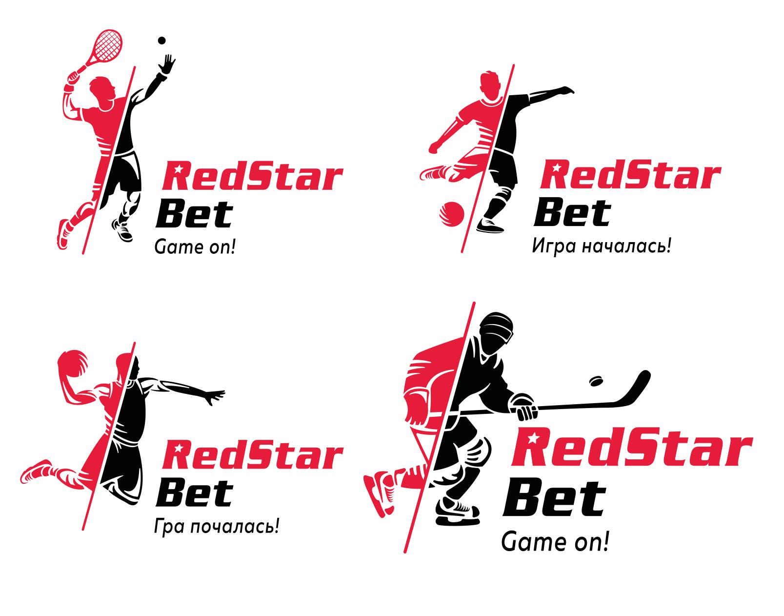 Логотипы и реклама RedStarBet Сайт Артура Нецветаева — сайты, приложения, прототипы и оформление интерфейсов logos big
