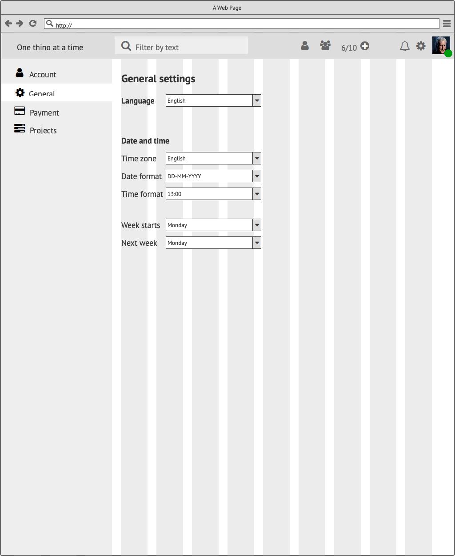 Прототипы CRM My Tasks Сайт Артура Нецветаева — сайты, приложения, прототипы и оформление интерфейсов General