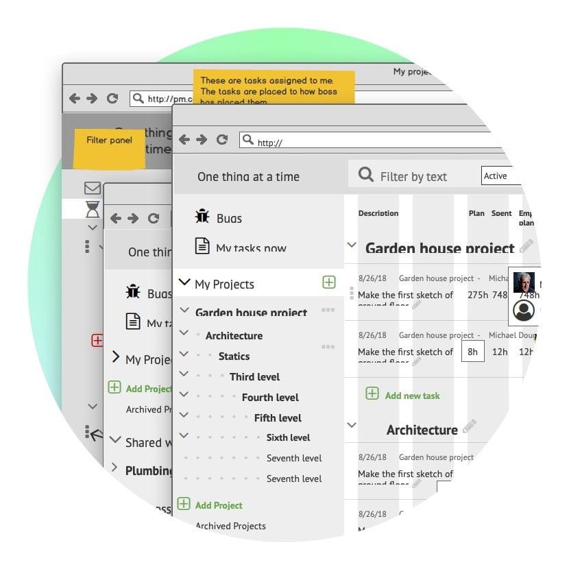 Прототипы CRM My Tasks Сайт Артура Нецветаева — сайты, приложения, прототипы и оформление интерфейсов mytasks square preview3