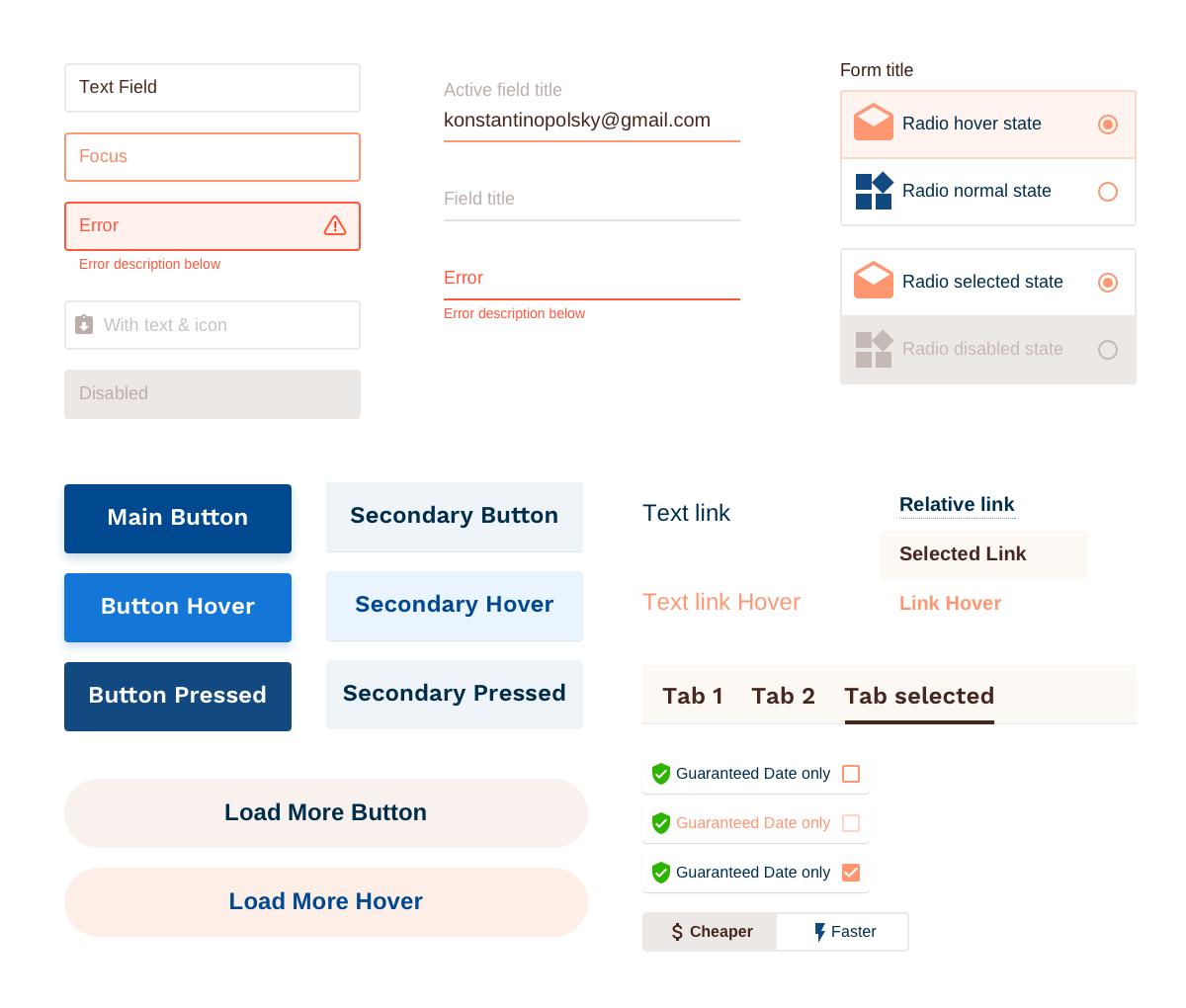 Интерфейс Shippy Pro Сайт Артура Нецветаева — сайты, приложения, прототипы и оформление интерфейсов shippy elements