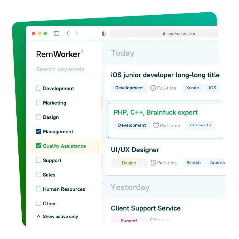 Интерфейс Remworker.com Сайт Артура Нецветаева — сайты, приложения, прототипы и оформление интерфейсов remworker square preview 1