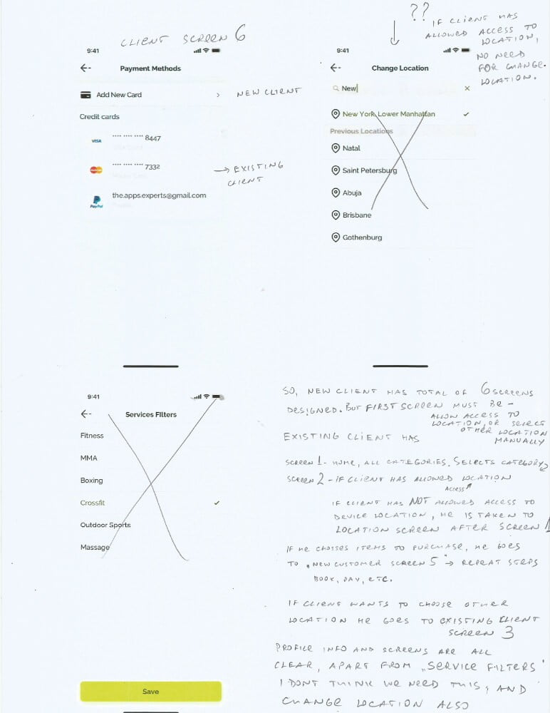Springbok — маркетплейс фитнеса Сайт Артура Нецветаева — сайты, приложения, прототипы и оформление интерфейсов P4