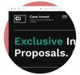 Case Invest Сайт Артура Нецветаева — сайты, приложения, прототипы и оформление интерфейсов square preview