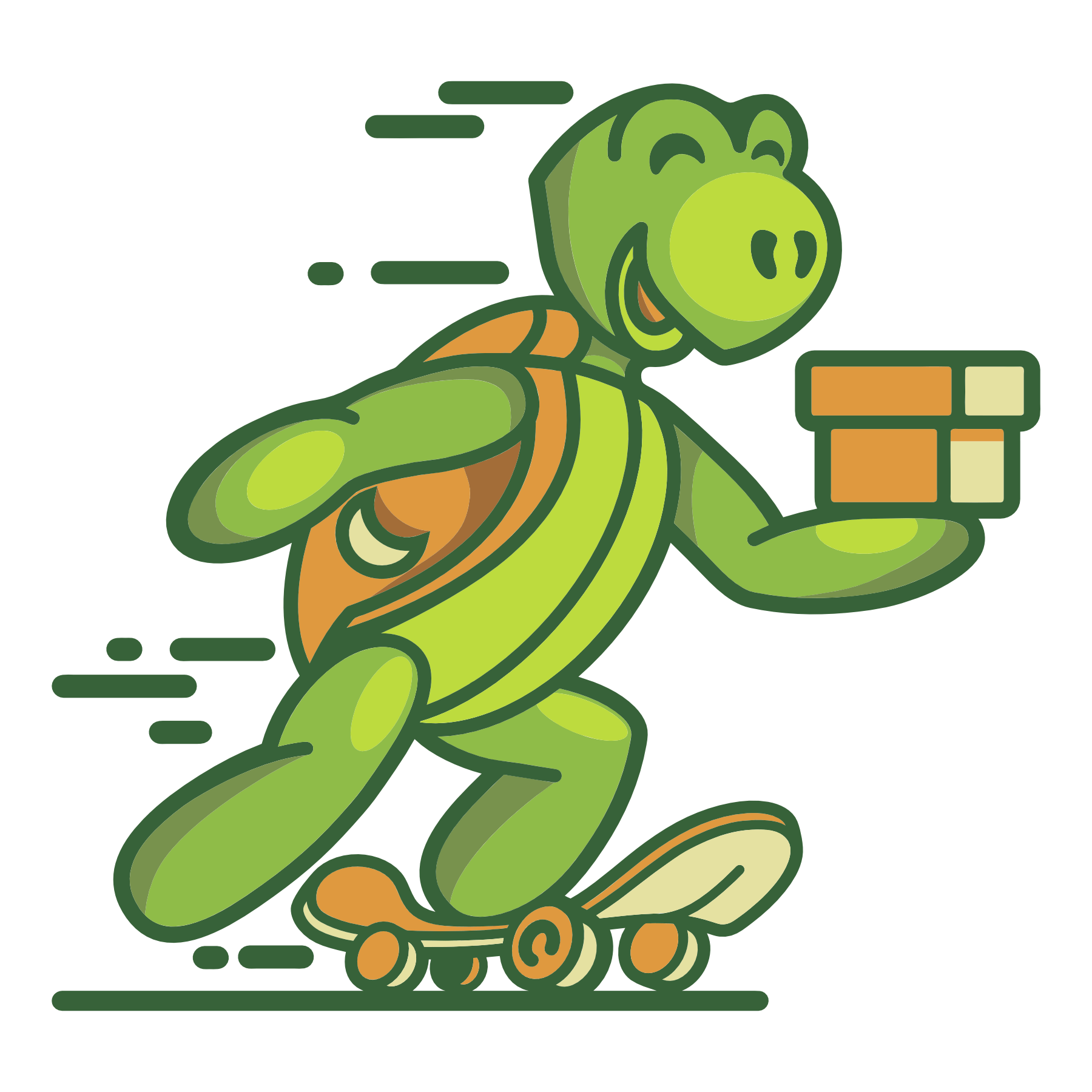 Доставка вещей Опенмонте Сайт Артура Нецветаева — сайты, приложения, прототипы и оформление интерфейсов turtle