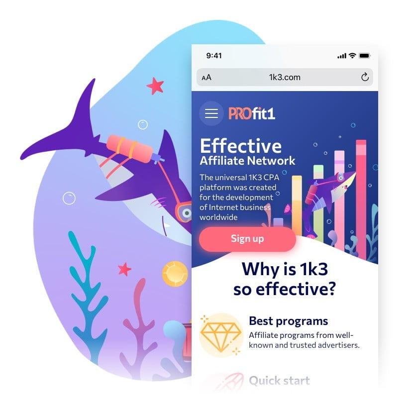 Profit1 — рекламная сеть Сайт Артура Нецветаева — сайты, приложения, прототипы и оформление интерфейсов square preview1
