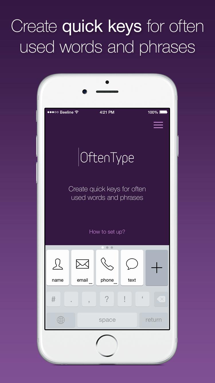 Баннеры Oftentype в Appstore Сайт Артура Нецветаева — сайты, приложения, прототипы и оформление интерфейсов 1 1
