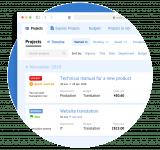 Дизайн CRM для бюро переводов Сайт Артура Нецветаева — сайты, приложения, прототипы и оформление интерфейсов gtp square preview
